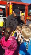 Wandertag zur Feuerwehr nach Thierfeld