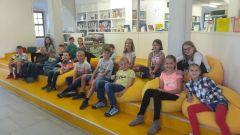 Besuch der Kinderbücherei in Zwickau